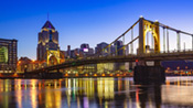 Pittsburgh at Night – January 2016