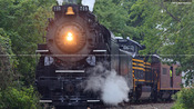 Steam Locomotive Nickel Plate Road 765 Returns to Pittsburgh – August 2012