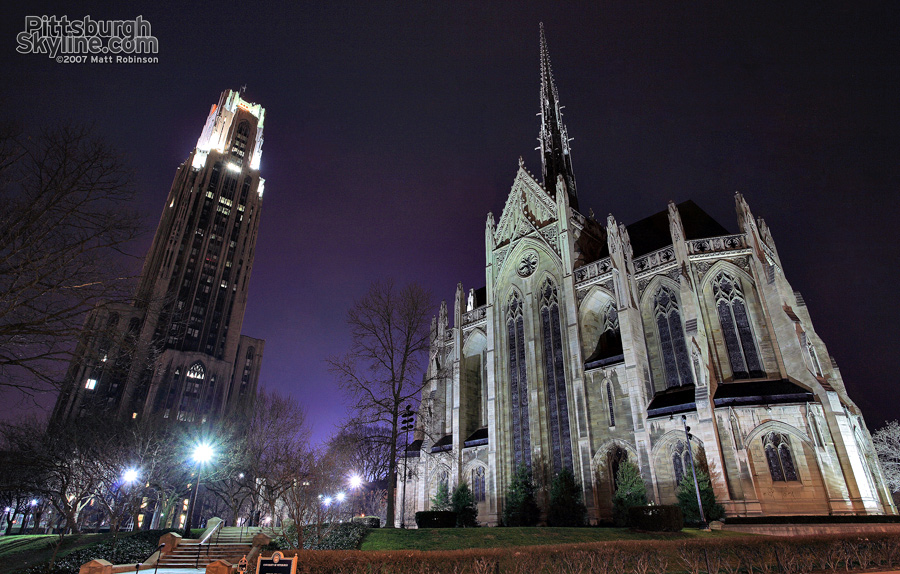 Heinz Chapel and Cathedral of Learning