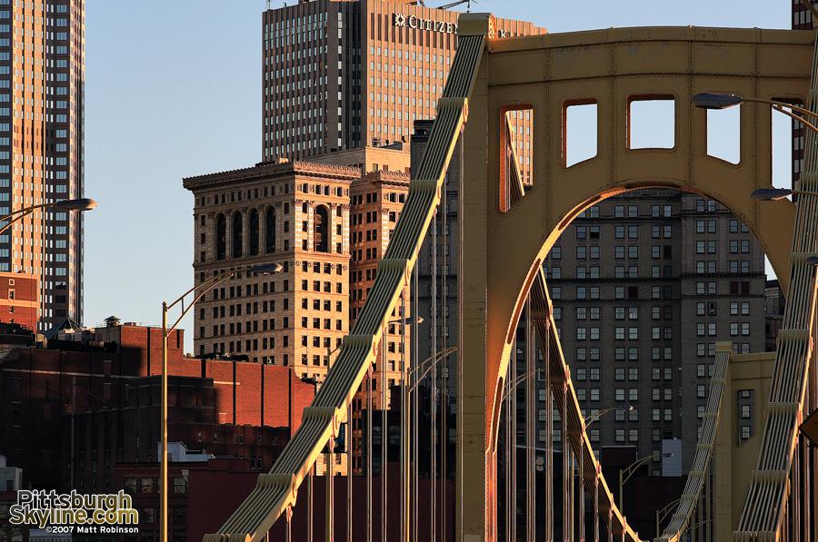 7th Street bridge to downtown