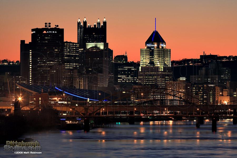 16th Street Bridge, Allegheny River, Pittsburgh