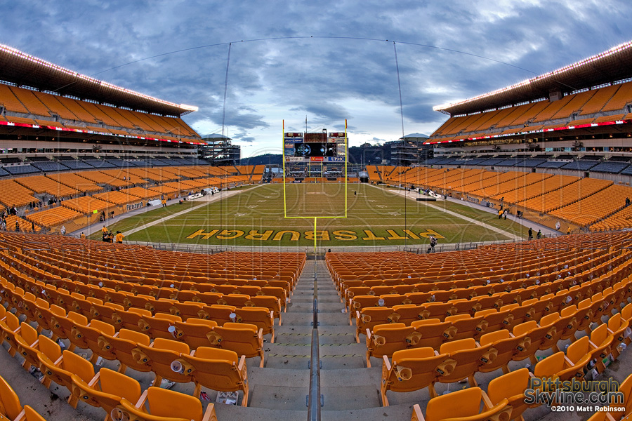 Heinz Field end zone