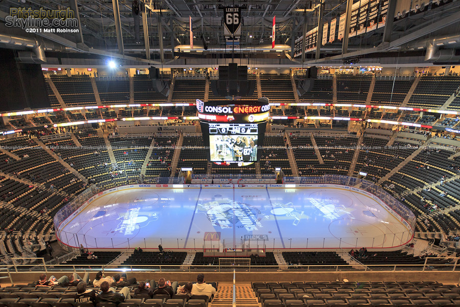 Another angle inside Penguins new home, Consol Energy Center