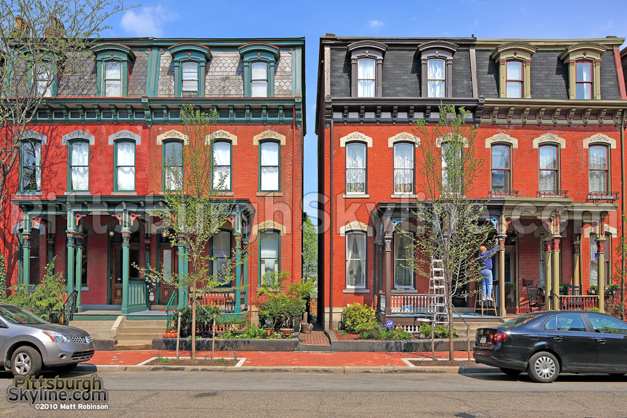 Pittsburgh Rowhouses
