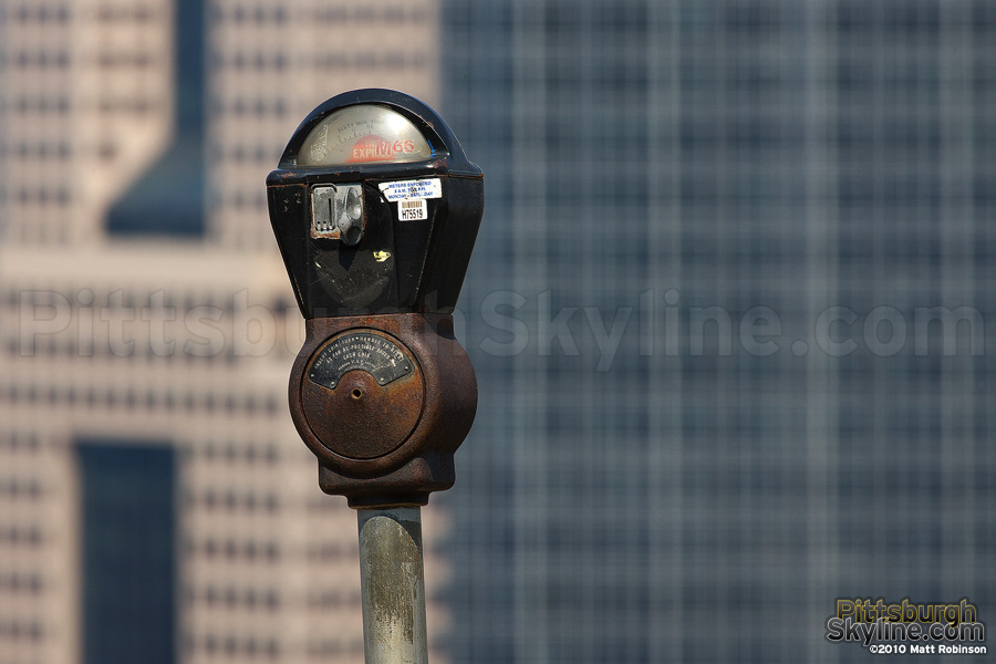Parking meter in the sky