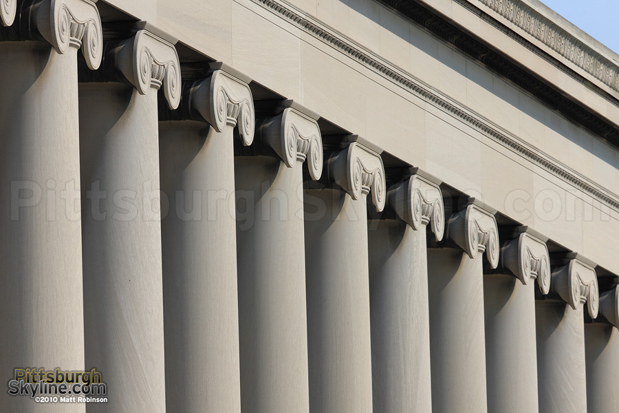 Mellon Institute Ionic Columns, Oakland