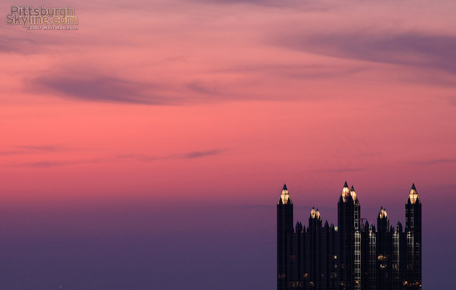 Pink, Purple and Spires