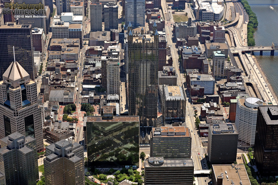 Aerial of PPG Place