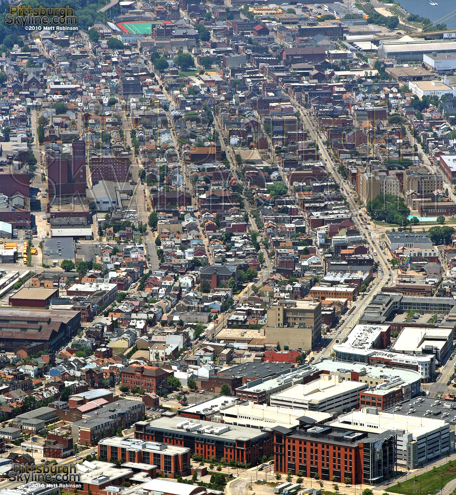 Southside density from above
