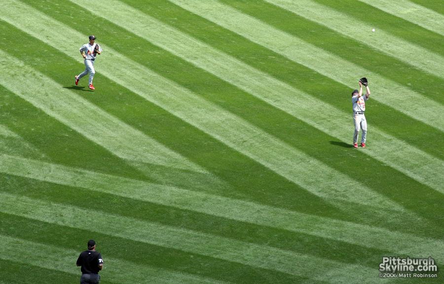 PNC Park grass