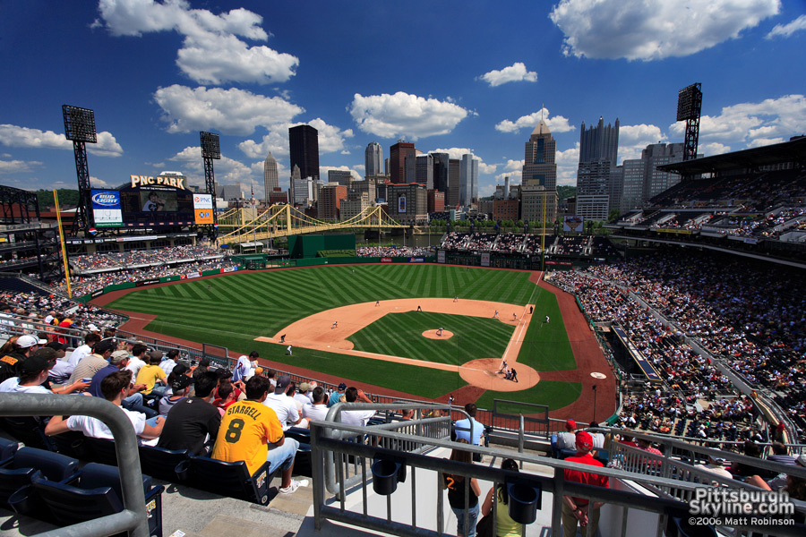 Sunny day at PNC Park