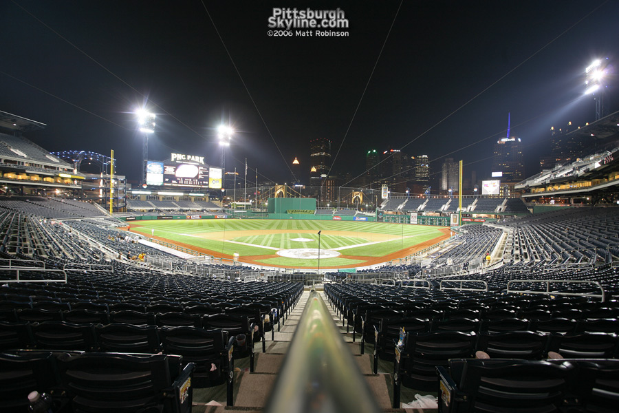 PNC Park post game