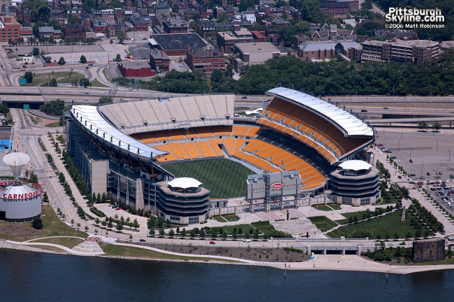 Aerial of Heinz Field