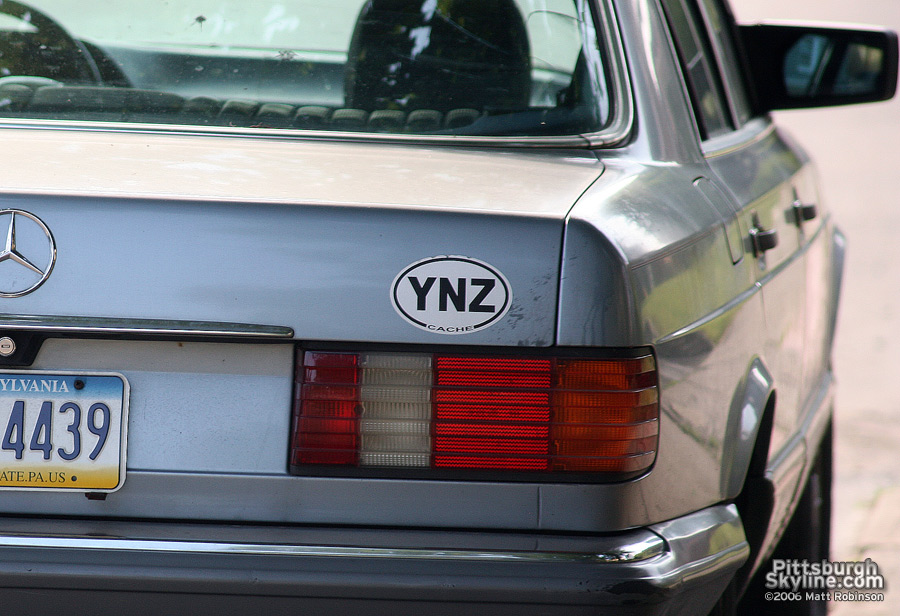 YNZ Sticker