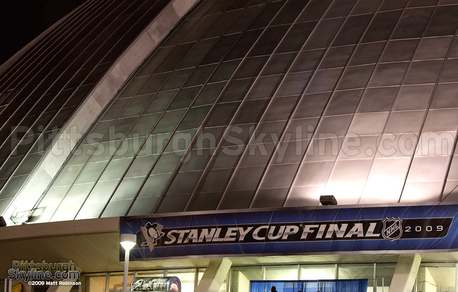 Civic Arena during the 2009 Stanley Cup Finals
