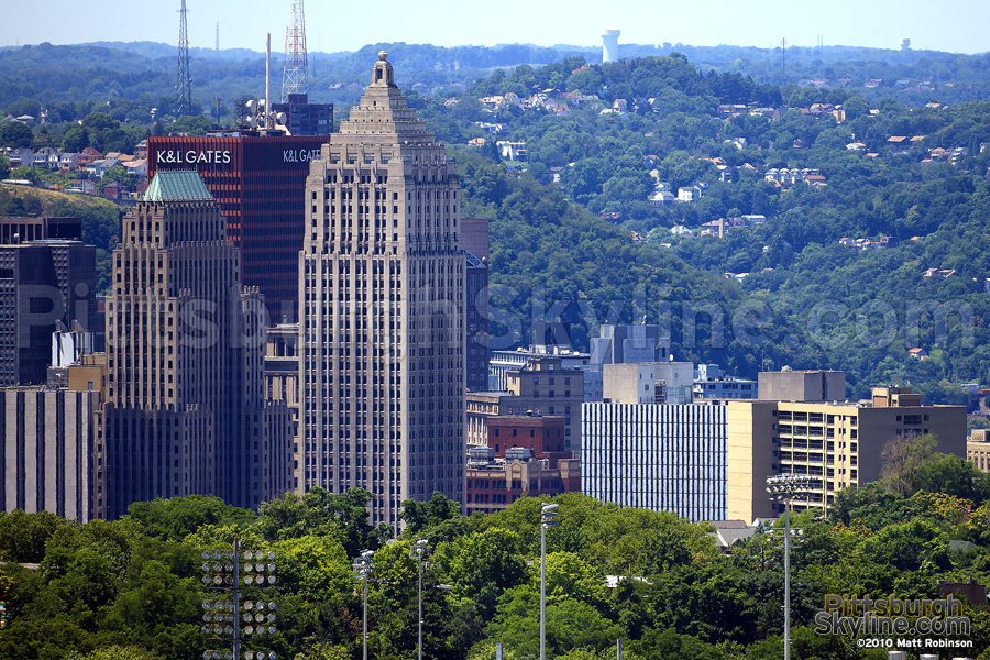 Pittsburgh's Art Deco Skyscrapers, Koppers Building and Gulf Tower