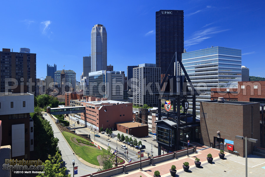 Pittsburgh from the Campus of Duquesne University