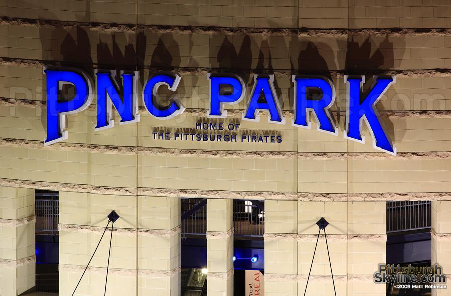 PNC Park sign