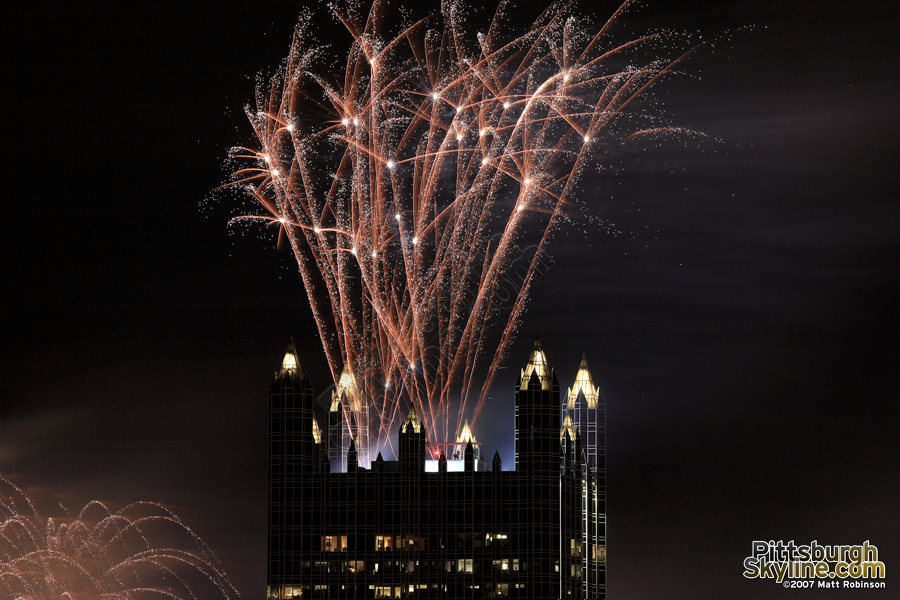 More fireworks fired from PPG.