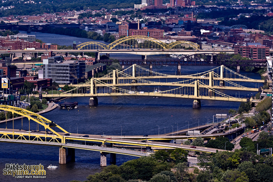 Bridges over Allegheny.