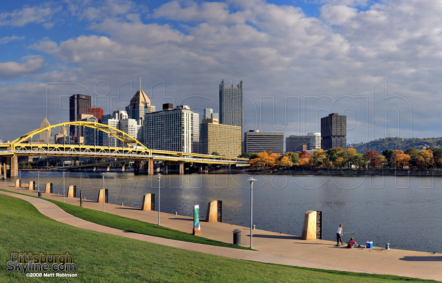 Shore of the Allegheny River.