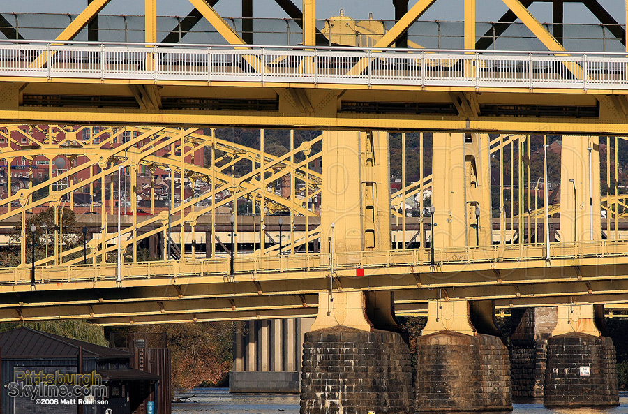 Tangle of Pittsburgh Bridges.