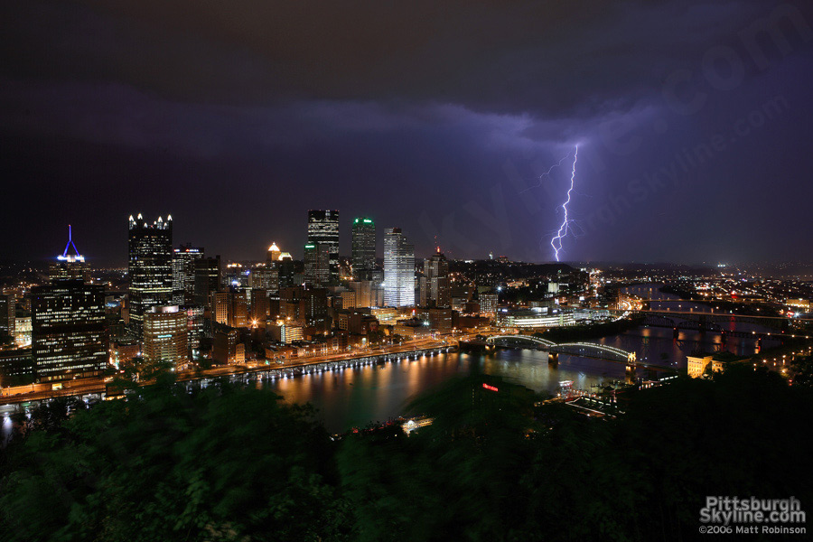 Mount Washington Lightning