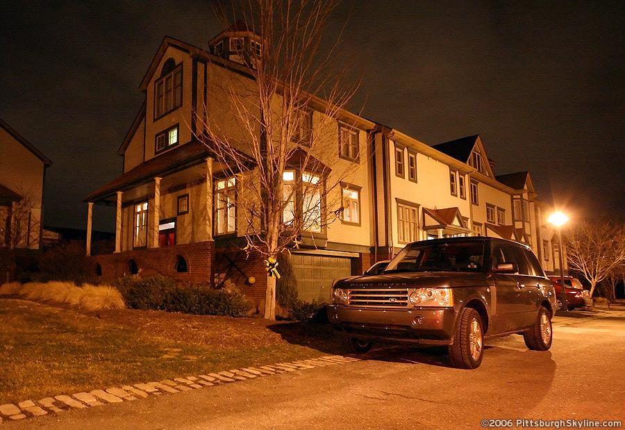 Ben's house.