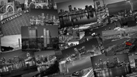 Pittsburgh Cityscapes in Black and White