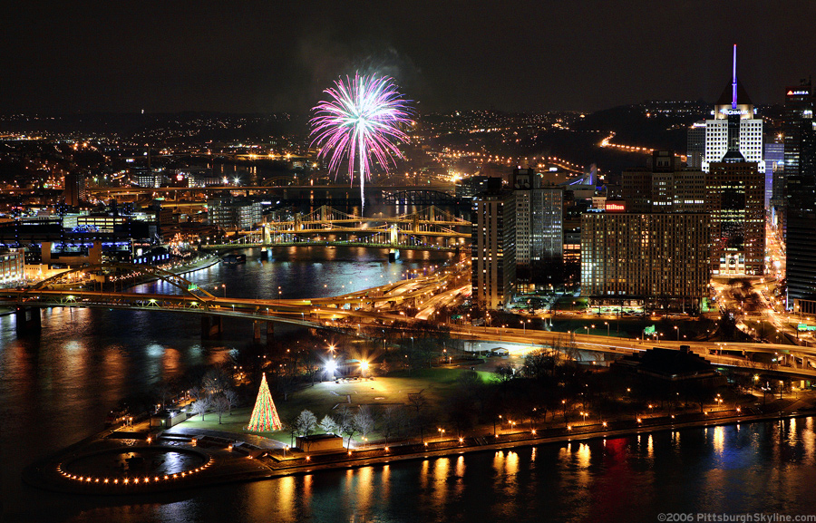 Fireworks at the Point, Pittsburgh